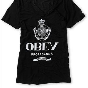 Old school obey shirt